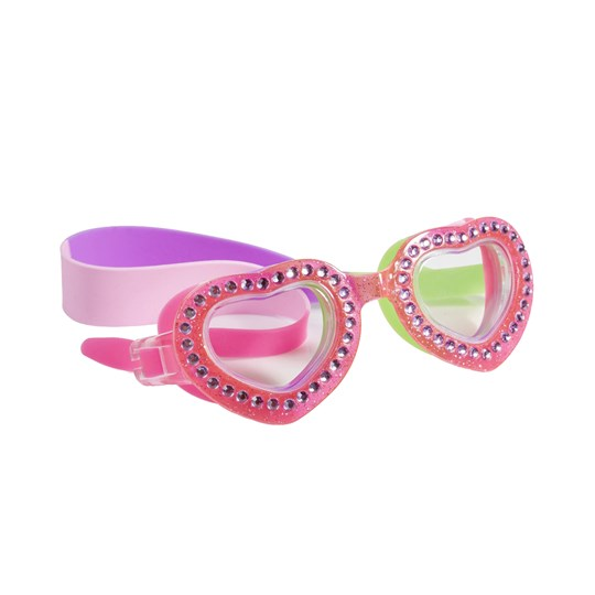 Bling2o Heart Swim Goggles Pink Pink