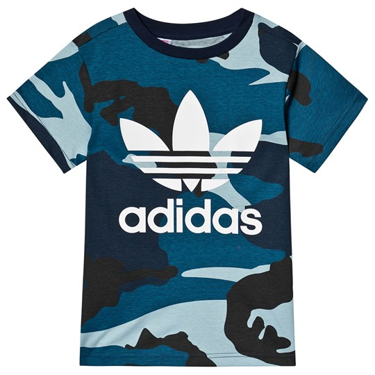 adidas Originals Multi Camo Branded T-shirt MULTICOLOR/WHITE