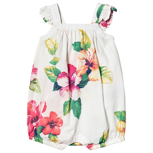 GAP Floral Romper New Off White NEW OFF WHITE
