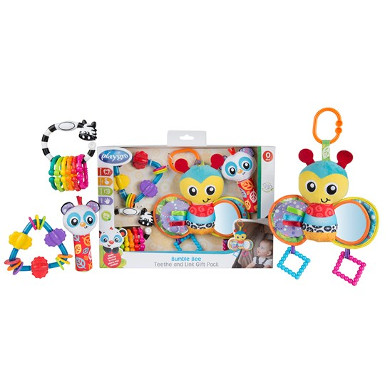 Playgro Bumble Bee Teethe And Link
