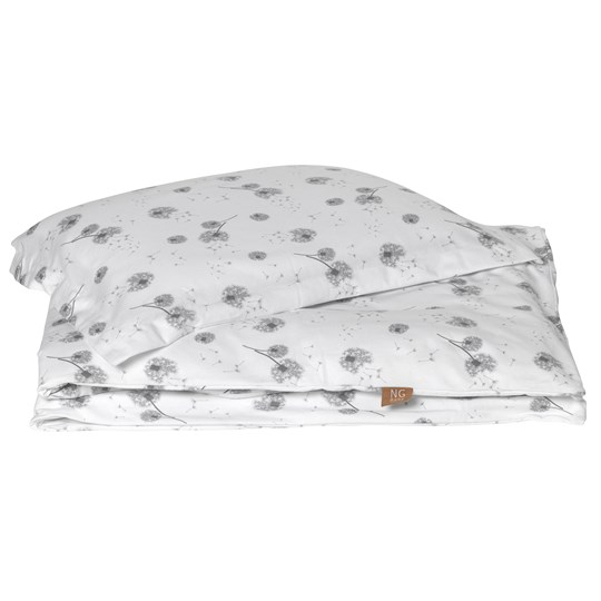 NG Baby 150x210 Bed Set Grey Dandelion Grey White