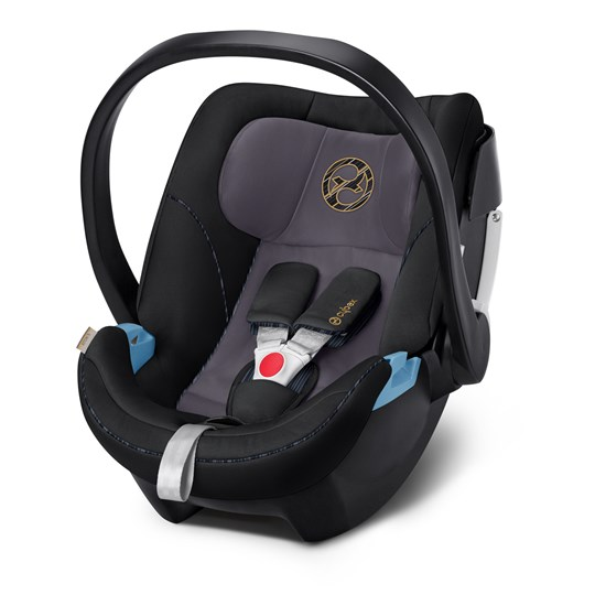 Cybex Aton 5 Infant Carrier Premium Black Black