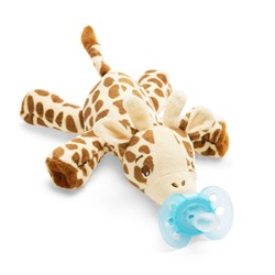 Philips Avent Snuggle Plush Toy Soother Giraffe