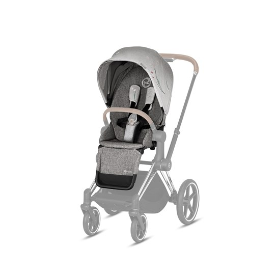 Cybex Priam Istuin Paketti Fashion Edition Koi Mid Grey