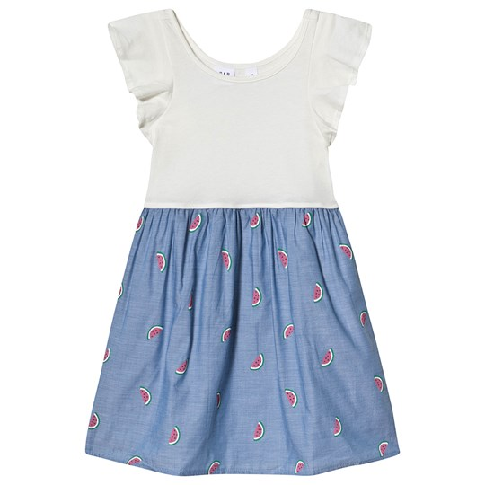 GAP Watermelon Dress Ivory Frost IVORY FROST