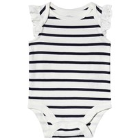 639ee0a7f611 Gap Randig Baby Body New Off White NEW OFF WHITE STRIPE