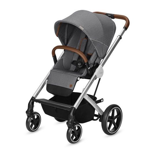 Cybex Balios S Rattaat Denim Manhattab Grey Mid Grey