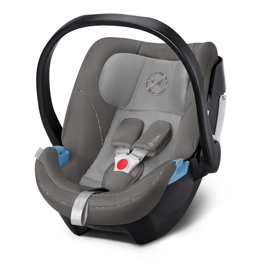 Cybex Aton 5 Baby Autostol Manhattan Grey Sort