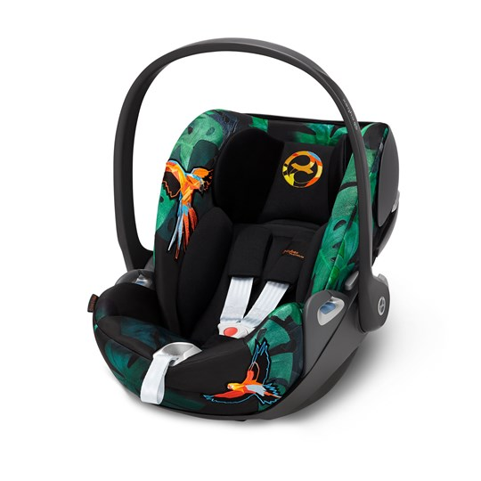 Cybex Cloud Z i-Size Babyskydd Fashion Edition Birds of Paradise Multicolor