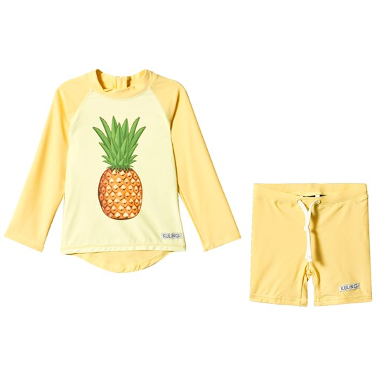 Kuling Kuling Uv-Set Curacao Pineapple Pale Yellow