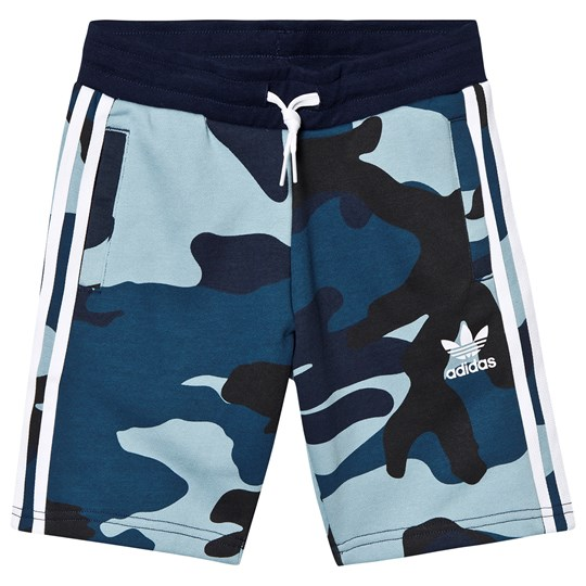 adidas Originals Multi Camo Sweatshorts MULTICOLOR/WHITE