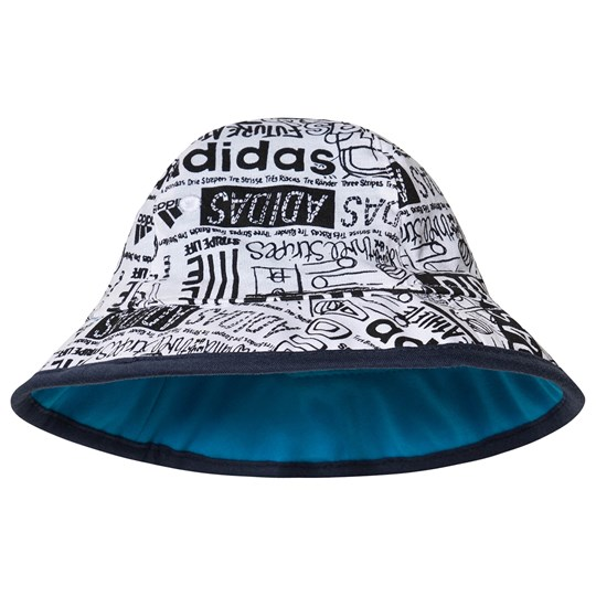 adidas Performance Blue Sunhat white/shock cyan/white