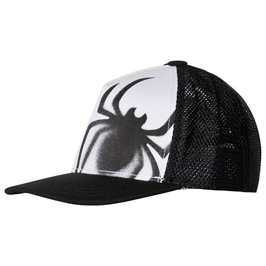 adidas Performance Spider Baseball Cap Black/White black/white/active red
