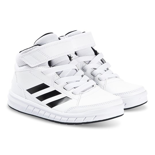 adidas Performance AltaSport Mid Kids Sneakers White FTWR WHITE/CORE BLACK/CORE BLACK