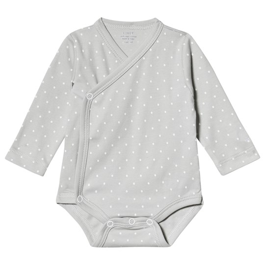 Livly Wrap Baby Body in Grey/White Dots grey/white dots