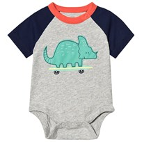 5e35227f11b6 Gap Baby Body Ljusgrå Light Heather Grey B08