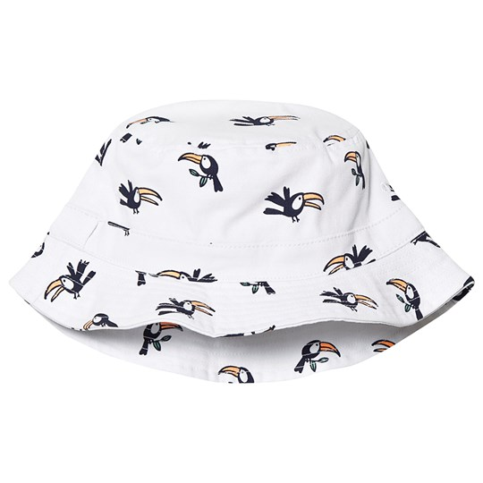 Gap Tryck Solhatt Naturvit NEW OFF WHITE