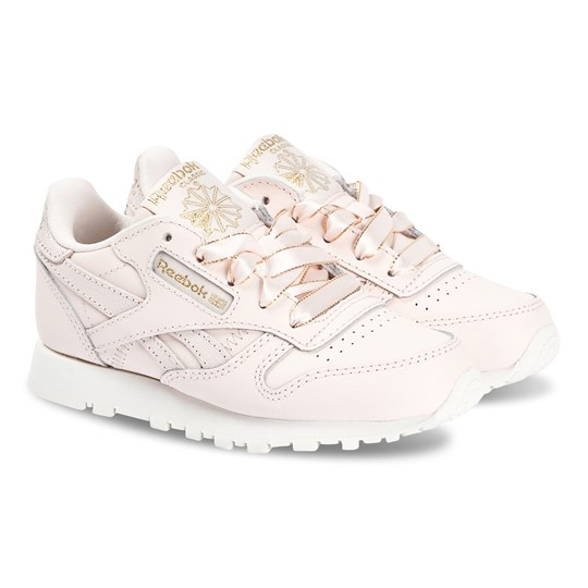 Reebok Classic Leather Kids Sneakers Pale Pink and Gold PALE PINK/CHALK/GOLD