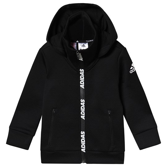 adidas Performance Training Zip Hoodie Black Black