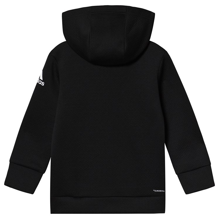 adidas Performance Training Zip Hoodie Black Babyshop.no