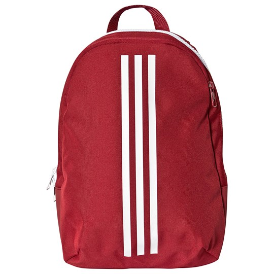 adidas Performance 3-Stripe Classic Backpack Red active maroon/white/white