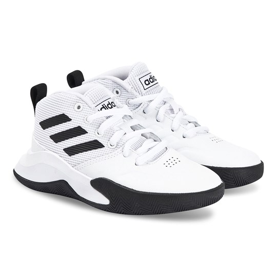 adidas Performance Own the Game Wide Sneakers Vit/Core Black FTWR WHITE/CORE BLACK/FTWR WHITE