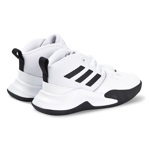 Game Wide Sneakers White and Core Black