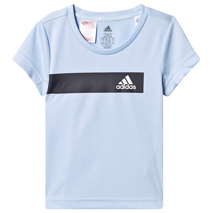 adidas Performance Cool T Shirt Blue Babyshop.no