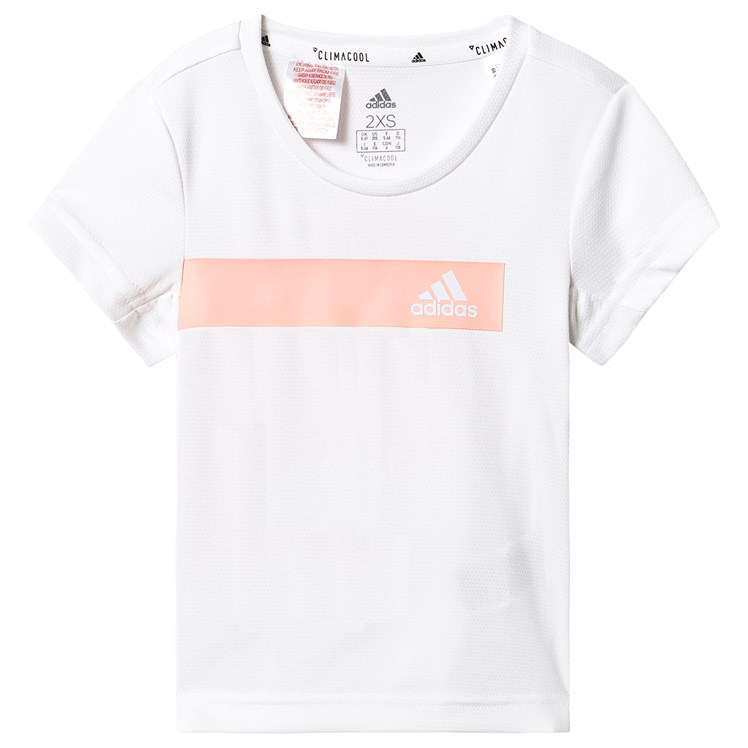 adidas Performance Cool T Shirt White Babyshop.no