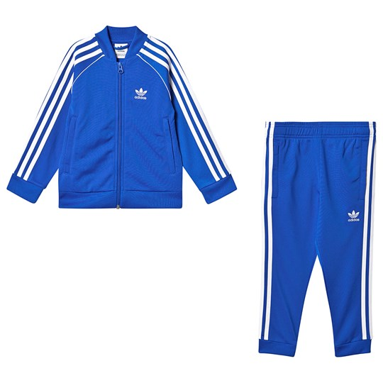 adidas Originals Superstar Tracksuit Blue BLUEBIRD/white