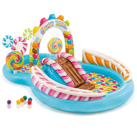 Intex Candy Zone Play Center, 206L + 168L, 295x191x130 cm