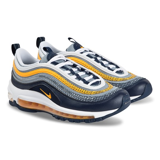 Air Max 97 Junior Sneakers Midnight NavyLaser Orange NIKE