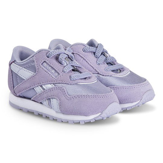 Reebok Classic Nylon Sneakers Lila MOON VIOLET/LUCID LILAC