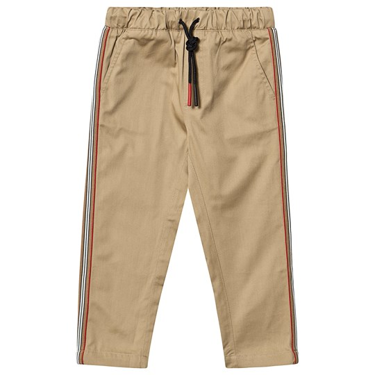 Burberry Icon Stripe Chinos Honey A1366