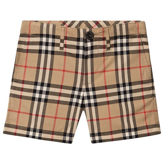 Burberry Tailored Shorts Antique Yellow A7028