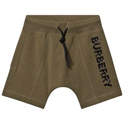Burberry Drawcord Shorts Military Olive