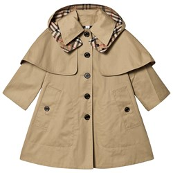 Burberry Swing Coat Honey