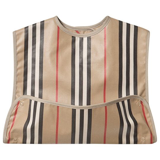 Burberry Coated Icon Stripe Baby Haklapp Archive Beige A7029