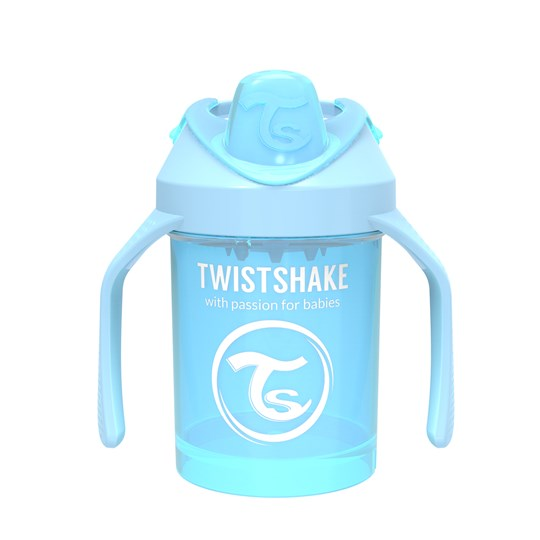 Twistshake Mini Cup Pipmugg 230 ml Pastellblå Pastel Blue