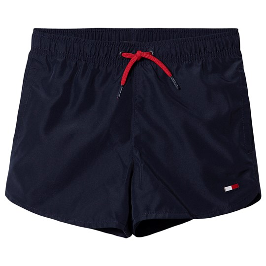 Tommy Hilfiger Flag Swim Trunks Navy 416