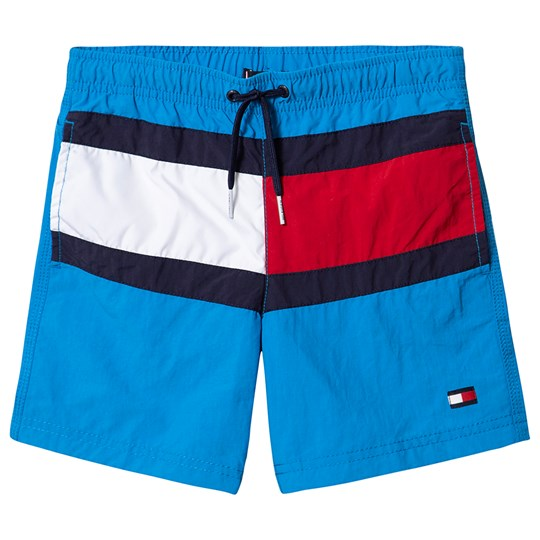 Tommy Hilfiger Logo Swim Trunks Blue 403