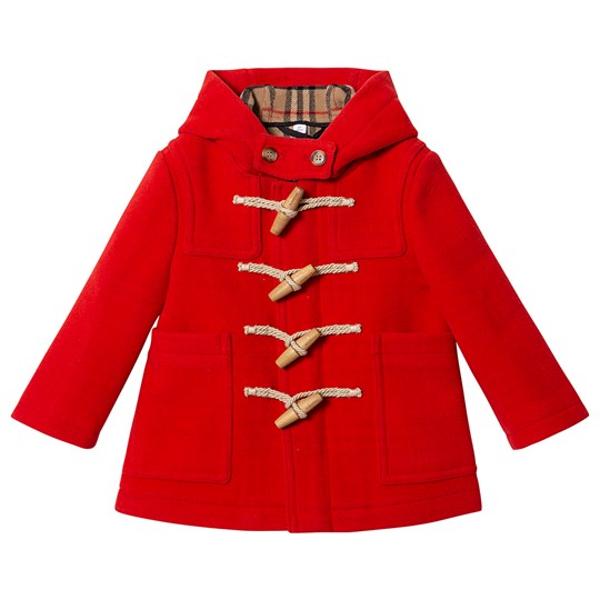 Burberry Duffle Coat Orange Red A1460