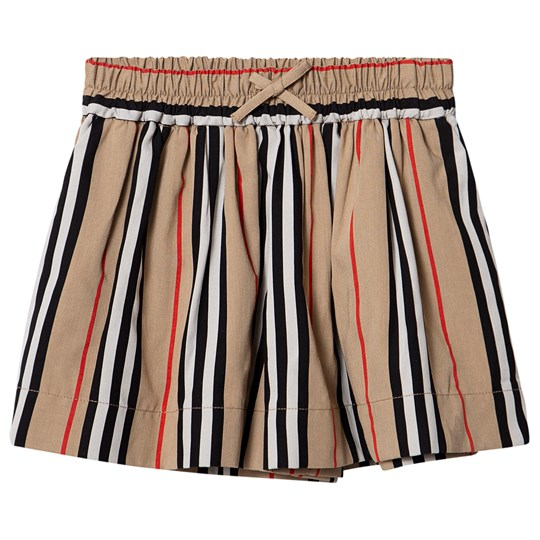 Burberry Striped Shorts Archive Beige A7029