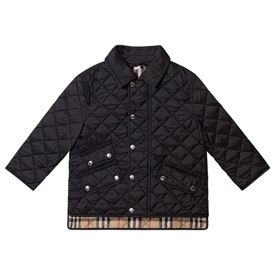 Burberry Diamond Quilted Jacket Black A1189