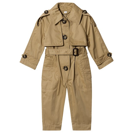 Burberry Trench Jumpsuit Honey A1366