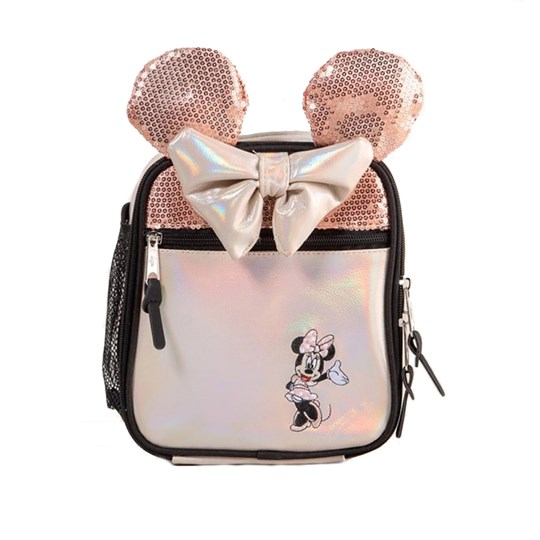 Hype Minnie Mouse™ Lunch Bag Pink Rose Gold