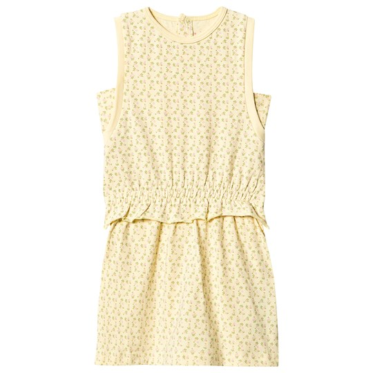 Mini A Ture Yoma Dress Yellow Anise Flower Yellow Anise Flower