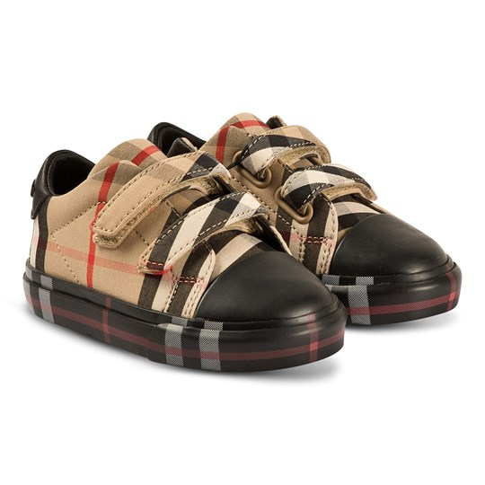 Burberry Vintage Sneakers Antique Yellow and Black A1189