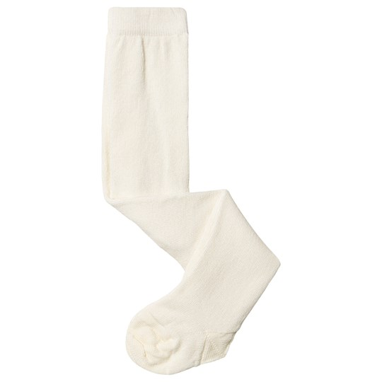 MP Wool/Cotton Tights Off White White