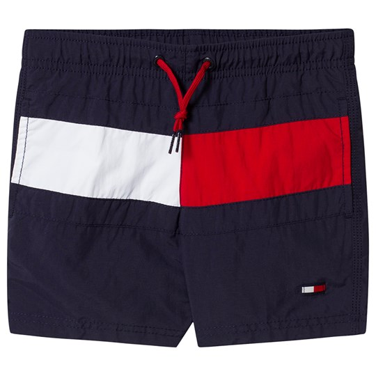 Tommy Hilfiger Logo Swim Trunks Navy 416
